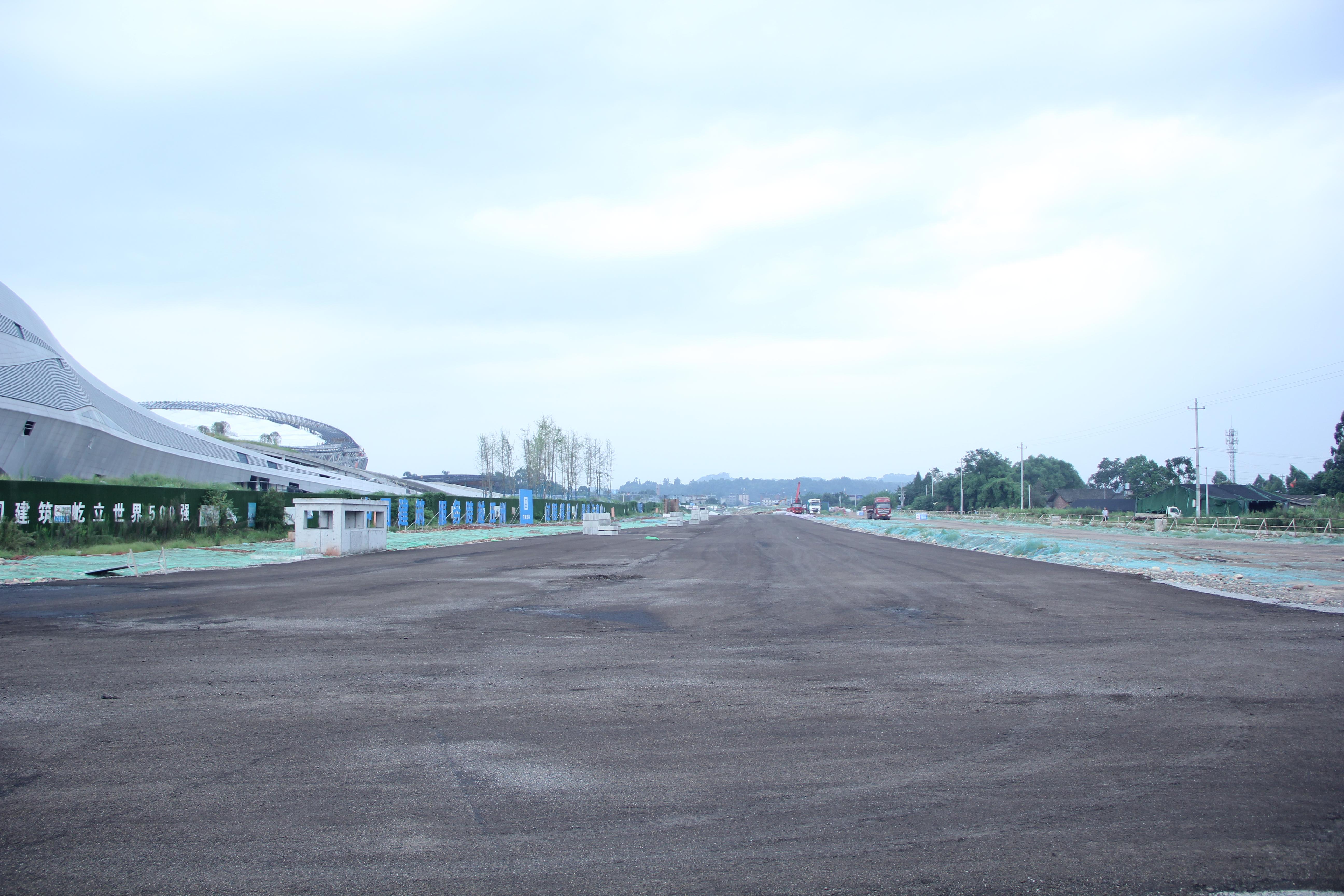 蘇稽新區這6條市政道路,有望年底竣工通車